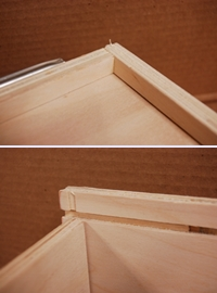 drawer bottom joints combined